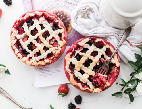 Old fashioned strawberry pie